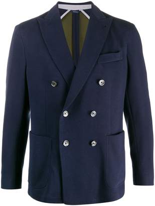 Tombolini double-breasted regular-fit blazer