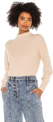 525 Bishop Sleeve Mockneck Sweater