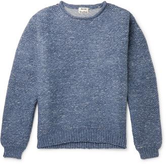 Acne Studios Oversized Melange Knitted Sweater