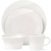 Royal Doulton Dinnerware, 1815 White 4 Piece Place Setting