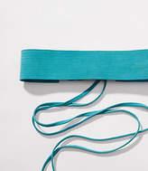 LOFT Suede Tie Belt