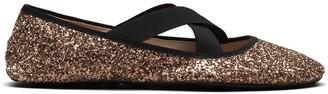 Car Shoe Glitter Ballerina Shoes