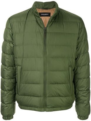 Dolce & Gabbana high collar padded jacket