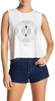 RVCA Spiral Sphere Cropped Tank