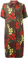 P.A.R.O.S.H. botanical print dress - women - Silk/Spandex/Elastane - XS