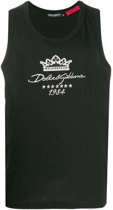 Dolce & Gabbana Since 1984 sleeveless top