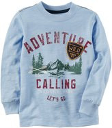 Carter's Boys' 2T- Adventure Is Calling Graphic Tee
