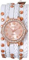 XOXO Women's XO5659 Analog Display Quartz Rose Gold Watch