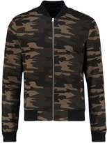 New Look New Look Bomber Jacket Green Pattern