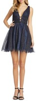 Thumbnail for your product : Mac Duggal Sparkle Fit Flare Cocktail Dress