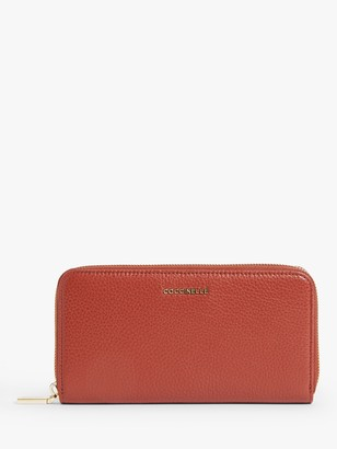 Coccinelle Metallic Soft Large Leather Purse