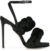 Marco De Vincenzo braided stiletto sandals
