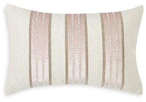 Charisma Melange Beaded Stripe Decorative Pillow, 14 x 22