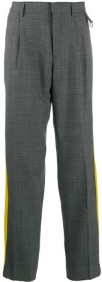 Stella McCartney Julian melange tailored trousers