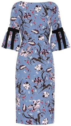 Erdem Alexandra brocade dress