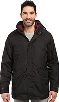 Izod Men's Insulated 3-In-1 Parka with Zip Out Inner Jacket