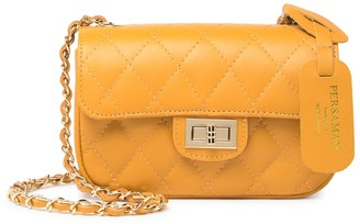 Persaman New York Bessie Quilted Leather Crossbody Bag