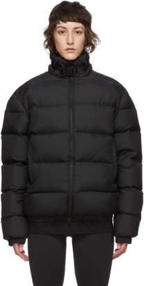 Alyx Black Down Buckle Puffer Jacket
