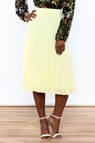 Lulumari Pleated Midi Skirt