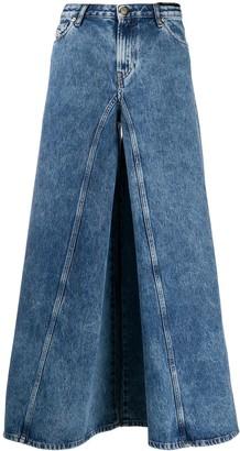 Diesel D-Spritzz 009IJ wide-leg jeans