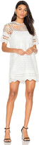KENDALL + KYLIE Crochet Shift Dress in White. - size S (also in XS)