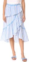 Moon River Ruffle Layered Skirt