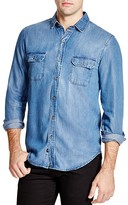 Rails Beckford Denim Regular Fit Button Down Shirt