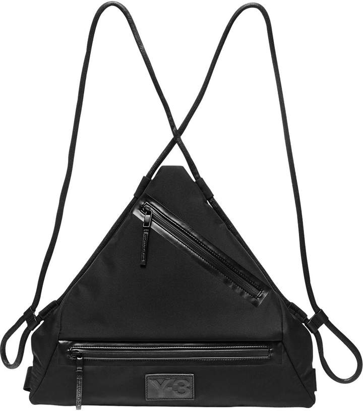 Y-3 Qasa Triangle Nylon Backpack