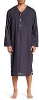 Majestic Long Sleeve Flannel Nightshirt