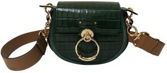 Chloé Tess Green Leather Handbags