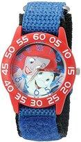 Disney Girl's 'Ariel' Quartz Plastic and Nylon Automatic Watch, Color:Blue (Model: W002914)