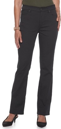 Croft & Barrow Women's 5 Pocket Effortless Stretch Bootcut Pants