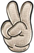 Anya Hindmarch 'Mickey Victory' sticker - women - Leather - One Size