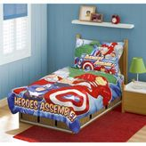 Baby Boom Avengers 4-Piece Toddler Bed Set