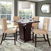 Asstd National Brand Bistro 5-pc. 36 Counter Height Cappuccino Dining Set