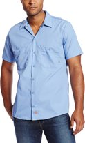 Dickies Occupational Workwear LS535LB 3XL Polyester/ Cotton Mens Short Sleeve Industrial Work Shirt