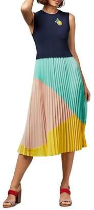 Ted Baker Ophelea Sleeveless Color-Block Dress