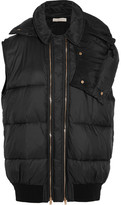 Stella McCartney Melissa Hooded Padded Shell Gilet - Black