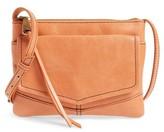 Hobo Amble Leather Crossbody Bag - Orange