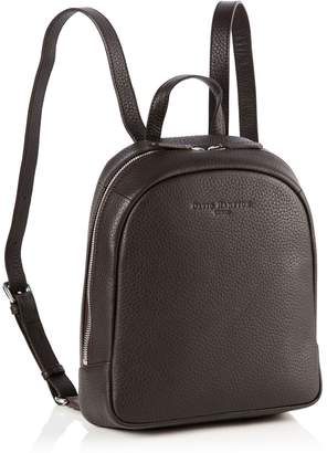 Richmond David Hampton Leather Poppy Mini Backpack In Cocoa Brown