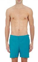 Orlebar Brown Men's Solid Bulldog Swim Trunks-BLUE