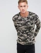 Jack and Jones Camo Sweatshirt