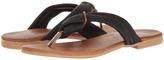 Cordani Black Iman Leather Sandal