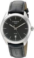 Tissot Men's T1014101644100 PR 100 Analog Display Swiss Quartz Grey Watch