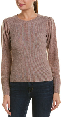 Rebecca Taylor Lurex Wool-Blend Pullover
