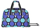 """Swiss Gear French West Indies 17.5"""" Rolling Duffel Bag - Teal"""