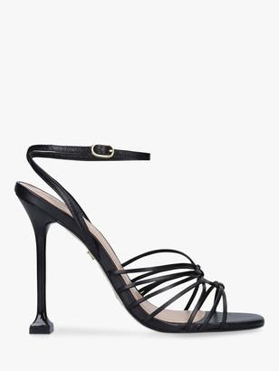 Carvela Glowing Leather Stiletto Sandals
