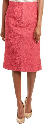 Escada Silk-Blend Pencil Skirt