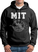 Sarah Men's Massachusetts Institute Of Technology Mit Logo Hoodie L