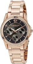 Stuhrling Original Women's 914.03 Symphony Helena Analog Display Quartz Rose Gold Watch